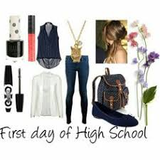 first day of high by alicecookiemonster on polyvore