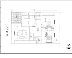 2bhk house plans 20ã 34 2bhk house plan gharexpert 20ã 34 2bhk house plan