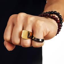 aliexpress buy nyuk new arrival men ring gold hip nyuk new arrival men ring gold hip hop cool ring men golden rings