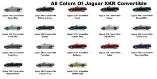 jaguar paint codes jaguar xk car club xkcc a club not a business