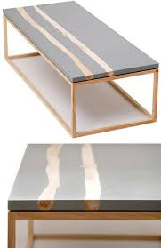 Woodwork Design Coffee Table by Best 25 Concrete Coffee Table Ideas On Pinterest Outdoor