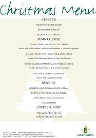 Festive Dinner Party Menu - 48 best christmas menus images on pinterest christmas menus