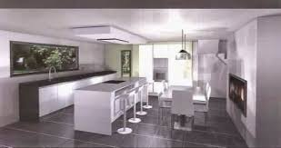 hotte cuisine plafond hotte cuisine ilot central hotte lot cuisine avec lot central et