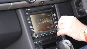 how to set the sat nav in a 2009 09 porsche boxster 2 9 pdk