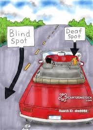 Driving Blind Spot Check Going Deaf Cartoons And Comics Funny Pictures From Cartoonstock