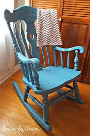 nursery rocking chair makeover spray paint it for less than 10
