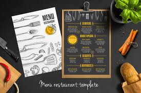 20 free u0026 premium restaurant menu templates psd u2013 design blog