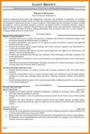 construction program manager resume resume tips skills