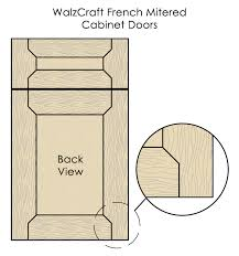 Cabinet Door Construction About Mitered Cabinet Doors From Walzcraft Walzcraft