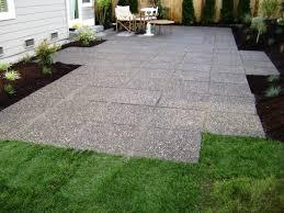 Concrete Patio Pavers Seattle Landscaping Landscaping Ideas Design Images