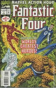 marvel action hour featuring fantastic 1994 comic books