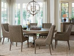 Transitional Dining Room Furniture Cypress Point Atwell Dining Table Lexington Home Brands