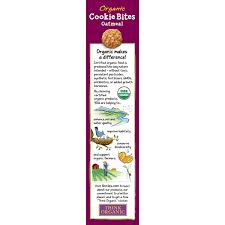 annie u0027s organic oatmeal cookie bites 6 5 oz box walmart com