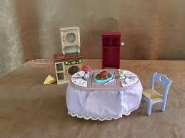 loving family kitchen furniture fisher price loving family kitchen dining furniture lot laundry