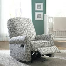 recliner living room white fabric free awesome swivel recliner
