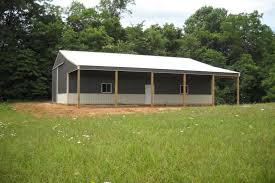 How To Build A Lean To On A Pole Barn Pole Barns Raber Portable Storage Barns
