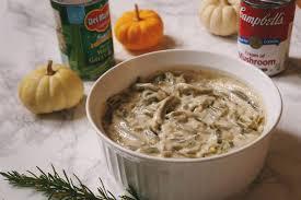 thanksgiving bean casserole personalized mini green bean casserole recipe carmen varner
