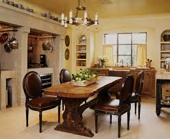 american style kitchen mediterranean with louis chairs oval back