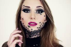 spider makeup for halloween ideas pictures tips u2014 about make up