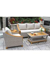 Wicker Patio Conversation Sets Outdoor Conversation Set Resin Wicker Conversation Patio Set
