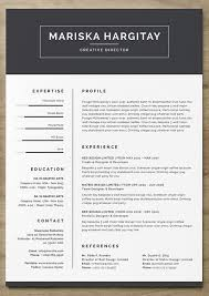 Modern Resume Templates Word Cv Template Professional Curriculum Vitae Design By 100 Free