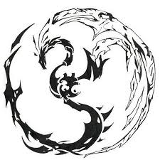 collection of 25 tribal scorpion yin yang design