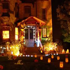 homemade outside halloween decorations in halloween home decor how