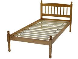 baltic pine wooden bed frame 3ft single pine bed