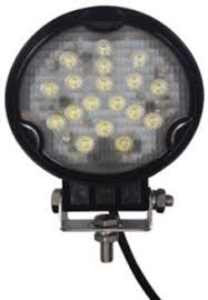 wrlx20wcw 12 volt led work light 10 30vdc black aluminum 316
