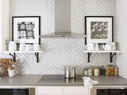 kitchen backsplash designs 11 creative subway tile backsplash ideas hgtv inside pattern for