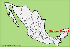 Riviera Maya Map Riviera Maya Location On The Mexico Map