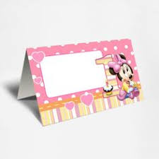 minnie mouse card table these personalized food tents place cards and table sign are perfect