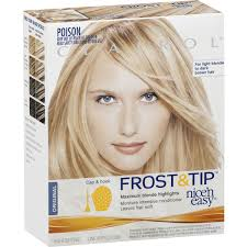 highlights vs frosting of hair clairol nice n easy frost tip max blonde highlight 1pk woolworths