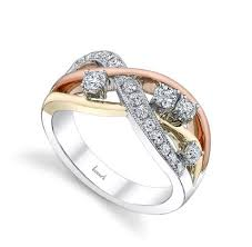 intertwined wedding rings husar s house of diamonds anniversary rings