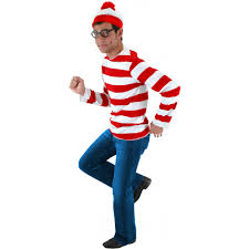 spirit halloween bismarck nd where u0027s waldo costume kit s m walmart com