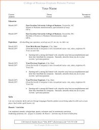 good resume exles for recent college graduates resume exles new college graduate fresh recent college graduate