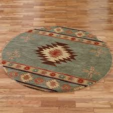 southwest area rugs southwest diamond round rugs