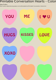 free printable conversation hearts for valentine u0027s day