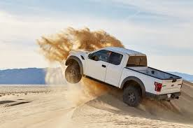 Ford Raptor Camera Truck - video shows 2017 ford raptor shocks in action inside and out