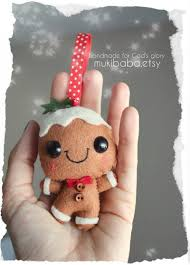 12 stinking gingerbread ornaments for to make this