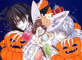 vampire knight halloween banner zero yuuki and kaname