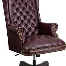 tufted leather desk chair burgundy leather office chair executive captivating tufted leather