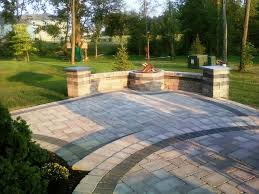 Tiered Backyard Landscaping Ideas Tiered Patio Designs Back Yard Patios With Two Tiers Interior