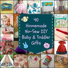 40 no sew diy baby and toddler gifts diy for