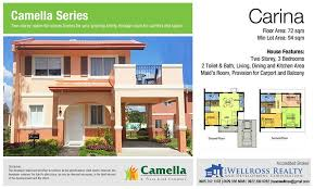 Camella Homes Drina Floor Plan Camella Sorrento Mexico Pampanga Team Wellross Realty And