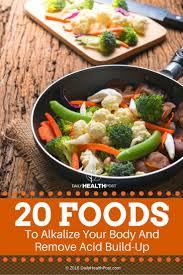 20 alkaline foods to eat everyday