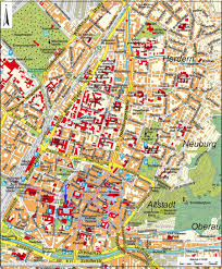 Germany City Map by Freiburg Map