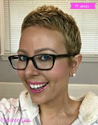 short hairstyles for very thin chemo hair 19 weeks chemo hair growth my cancer chic my cancer chic posts