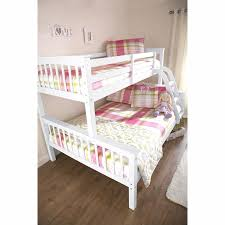 NOVARO TRIO WHITE BUNK BED FRAMES FT SINGLE FT DOUBLE FOR - Ebay bunk beds for kids