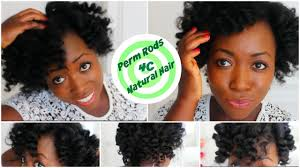 perm rods on medium natural hair perm rod set on 4c natural hair heatless curls overnight after